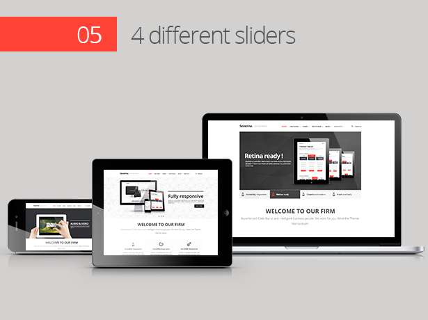 Severina - Responsive Multi-Purpose HTML Template