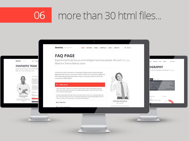 Severina - Responsive Multi-Purpose HTML Template